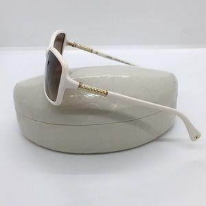 Coach Accessories - Coach ivory/white sunglasses